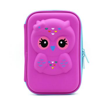 Colorful Waterproof Glamour Coin Purse Smart Wallet Silicone Card Holder