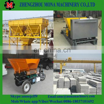 Precast Prestressed Hollow Core Concrete Roof Slab Wall Panel Making Machine