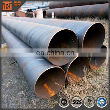 saw pipe tube q235b spiral welded steel pipe pipe with ssaw
