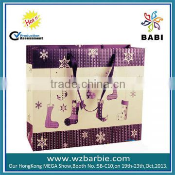 Small xmas paper bag for xma gifts