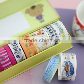 xg-10015 Holiday gift packing masking tape decoration Masking Tape