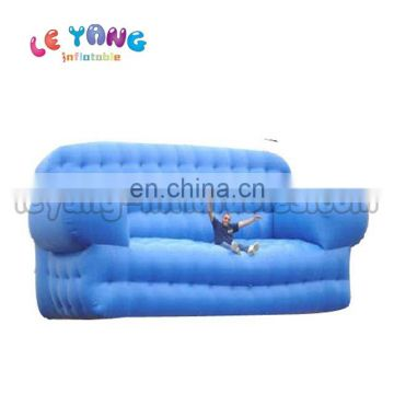 Blue Long Giant Advertising Replica Outdoor Air Sofa