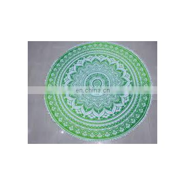 Yoga Mat Art Wholesale Lot Round Mandala Wall Hanging Beach Towel Indian Mandala Roundie Hippie Boho 72' Round Table Cover Throw