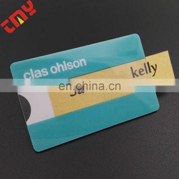 Wholesale Waterproof Pvc Name Badge HolderCustom Magnetic Name