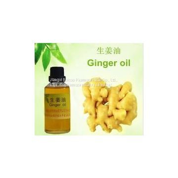 100% pure Manufacturer CAS NO.8007-08-7 Organic ginger oil food flavour, animal feed & therapy, cosmetic
