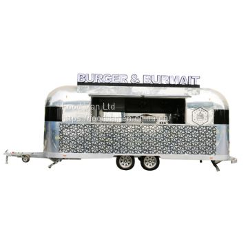 CE approved mobile food truck for sale