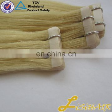 Thick Bottom New Arrival High Quality Trade Assurance Remy Human Hair Slavic Tape Hair Extensions