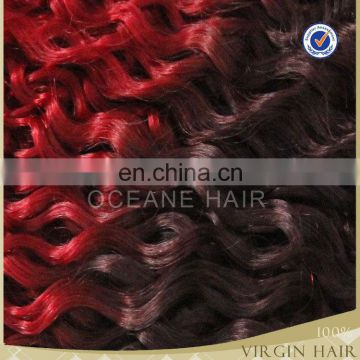 New arrivalling!!!buy hot heads hair extensions beautiful colour wholesale remy red color indian remy human hair weaving