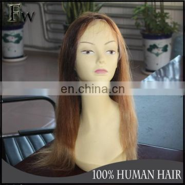 Factory in Qingdao large stock ombre lace front wig