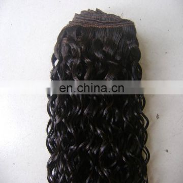 Heze factory wholesale human hair bundles remy brazilian human deep curly hair extensions