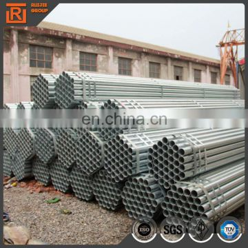 2.4mm thick Pre Galvanized pipe, gi steel pipe used for structure zinc 80g 48mm OD