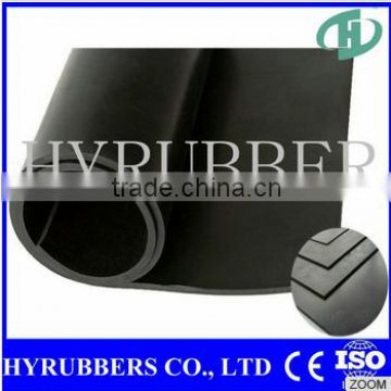 China manufacturer high quality sbr rubber grooved flooring
