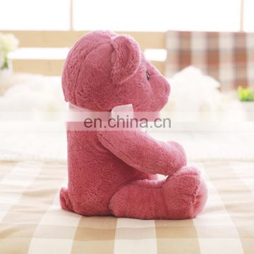 Classic teddy bear custom color plush toys factory china
