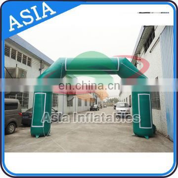 Marathon Competition Inflatable Marker Line Arch / Triathlon Entrance Arch