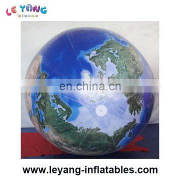 Industrial Large Earth Inflatable Advertising Balloons Ornaments For Stage