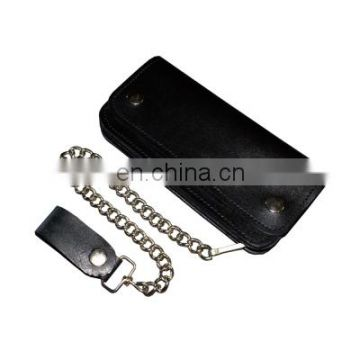 Leather Wallets with Chain HMB-727A