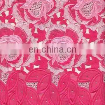 hand cut voile lace TKL8404