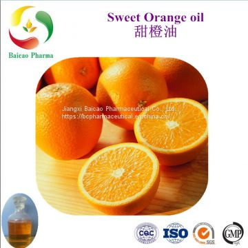Citrus sinensis clod pressed Flavor Essential Pure Natural Sweet Orange Oil For Cosmetic, Fragance, Massage