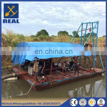 Small portable jet suction sand dredger