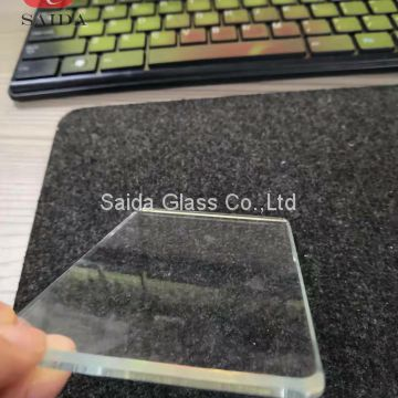 China factory custom heat tempered glass 4mm thickness with beveled polished edges for home application
