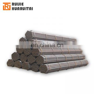 Mild steel annealed black iron round pipe size 20mm/25mm/32mm/48mm