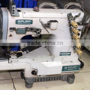 Used Second Hand Reconditioned SIRUBA C40J Siruba Flat Lock Sewing Custom Reconditioned Sewing Machines
