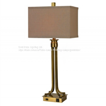 Table Lamp With Power Outlet And Usb Port Of Table Lamps From China