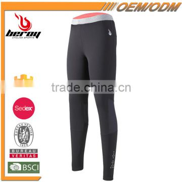 BEROY lady's spring running yoga jogging sport fitness Gym leggings sublimation print pants for wholesale