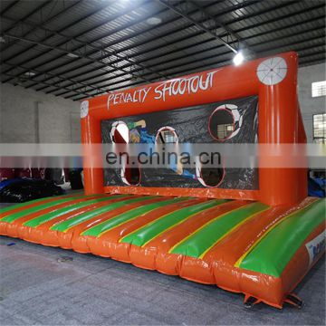 Outdoor inflatable soap water soccer field