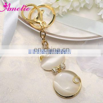 AR09 Gold Color Metal Keychains Wholesale