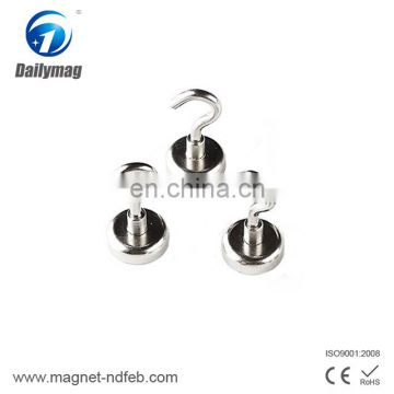 Heavy Duty Permanent Magnet Hook for Household