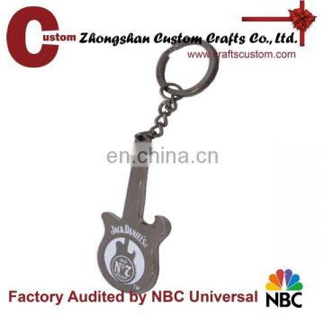 Hot Fashion Rock electric guitar souvenir metal keychain as gifts