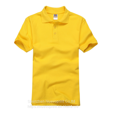 Popular wholesale Polo Blank t shirts  V neck t shirts
