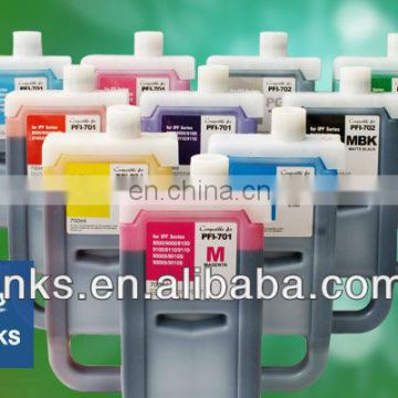 Compatible For PFI704 Cartridge Canon IPF8300 12 Color Pigment Ink
