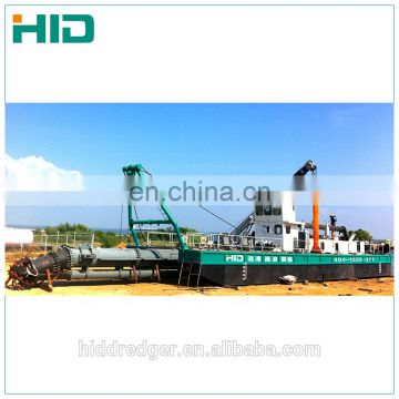 Hot sale hydraulic river sand cutter suction dredger ship