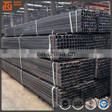 Factory price black steel square pipe steel square tube 60*60