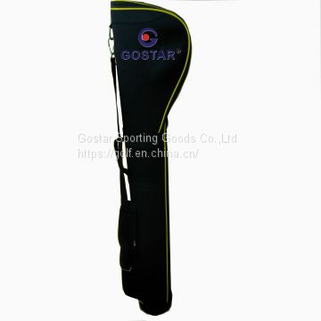 High Quality Newest Design Golf Gun Bag With Printing Lining