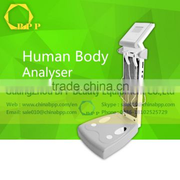 Best use in body machine analyser for health management and accessing agencies use