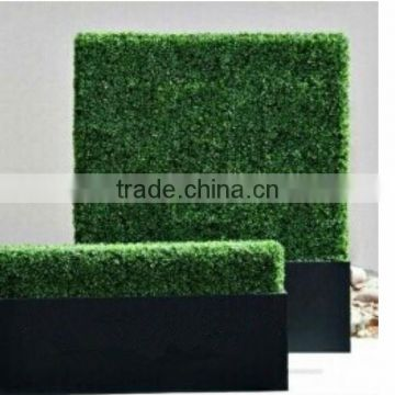 wholesale artificial hedge high quality green artificial boxwood hedge