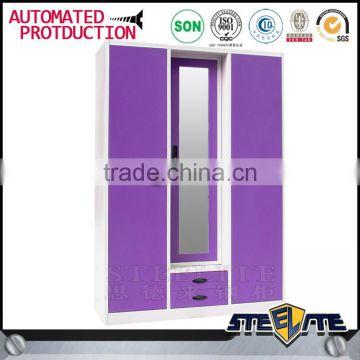 Metal Wardrobe Buy Double Color Wardrobe Design Furniture Bedroom Indian Closet Almari Powder Coated Steel Almirah On China Suppliers Mobile 142786210