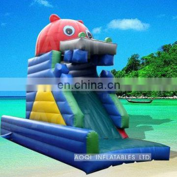 giant water game inflatable slide