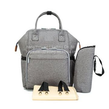 tote style diaper bag with long shoulder