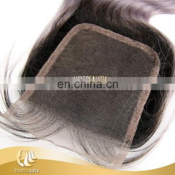 Wholesale brazilian virgin hair grey purple top lace closure body wave free part human hair closure