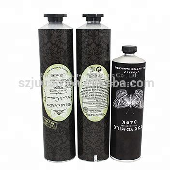 Flexible Aluminum Collapsible Hand Cream Packaging Tube
