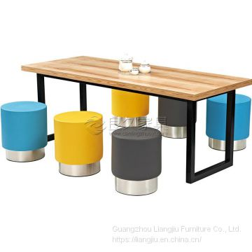 Burger shop furniture, fast food restaurant furniture, email: sales@bonsuny.com