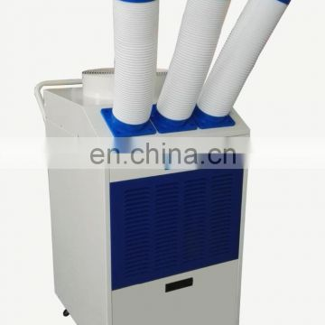 floor standing portable air conditioner with universal wheels