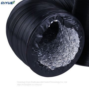 Top Quality Various Sizes PVC Aluminum Foil Flexible Duct Hose for HVAC Ventilation