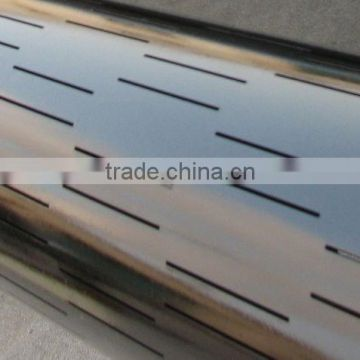 oil well laser slotted screen pipe/screen casing/screen tubing from china with high quality