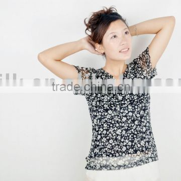 silk knitted top
