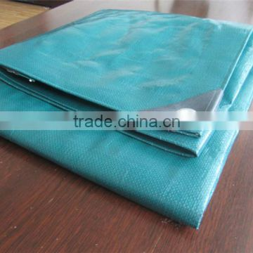 China weaving fabric polyethylene tarp / tent fabric / two colored plastic sheets